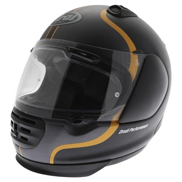 Arai Rebel Herritage Grey Full Face Motorcycle Helmet Front Left