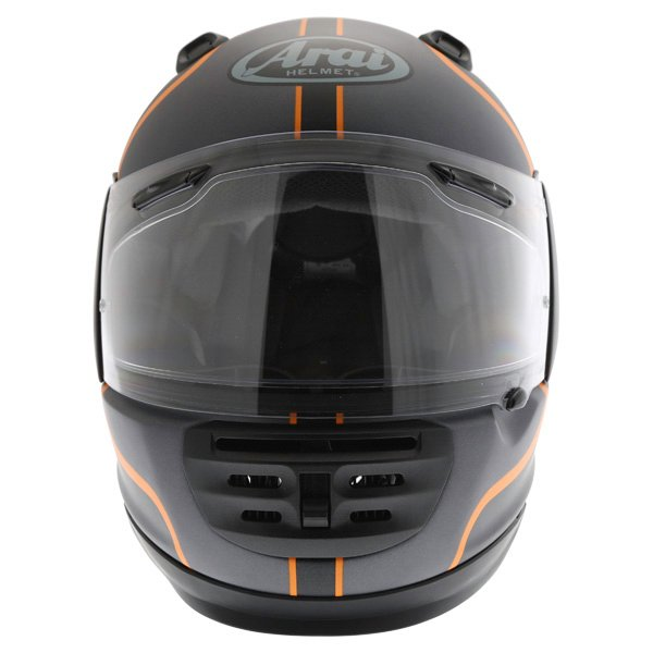 Arai Rebel Herritage Grey Full Face Motorcycle Helmet Front