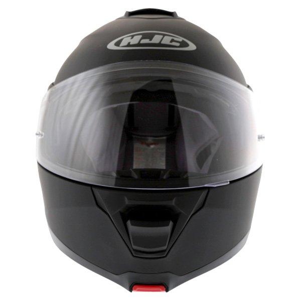 HJC IS-Max 2 Matt Black Flip Front Motorcycle Helmet Front