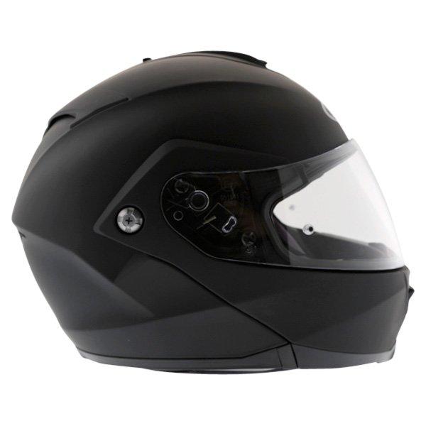 HJC IS-Max 2 Matt Black Flip Front Motorcycle Helmet Right Side