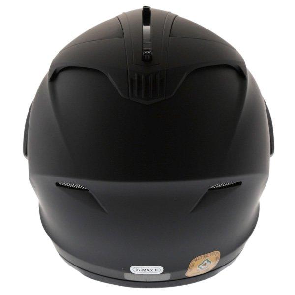 HJC IS-Max 2 Matt Black Flip Front Motorcycle Helmet Back