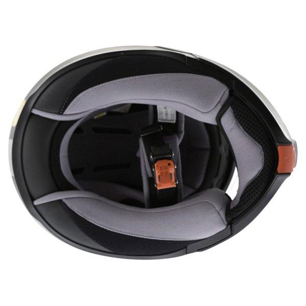 HJC IS-Max 2 Matt Black Flip Front Motorcycle Helmet Inside