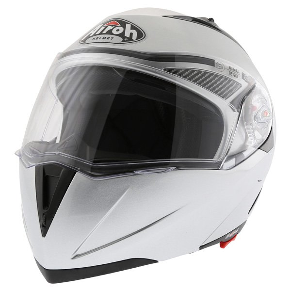Airoh Cezannee XR Color Silver Full Face Motorcycle Helmet Front Left