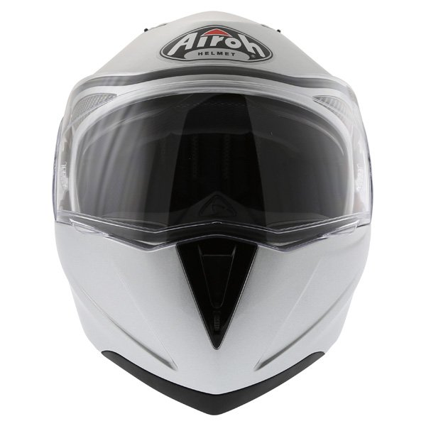 Airoh Cezannee XR Color Silver Full Face Motorcycle Helmet Front