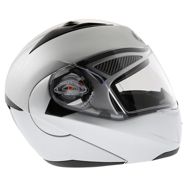 Airoh Cezannee XR Color Silver Full Face Motorcycle Helmet Right Side