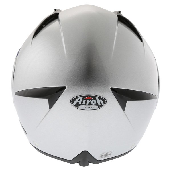 Airoh Cezannee XR Color Silver Full Face Motorcycle Helmet Back
