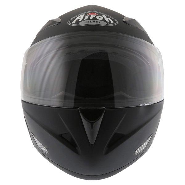 Airoh SV55-S Matt Black Flip Front Motorcycle Helmet Front