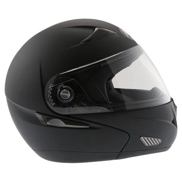 Airoh SV55-S Matt Black Flip Front Motorcycle Helmet Right Side