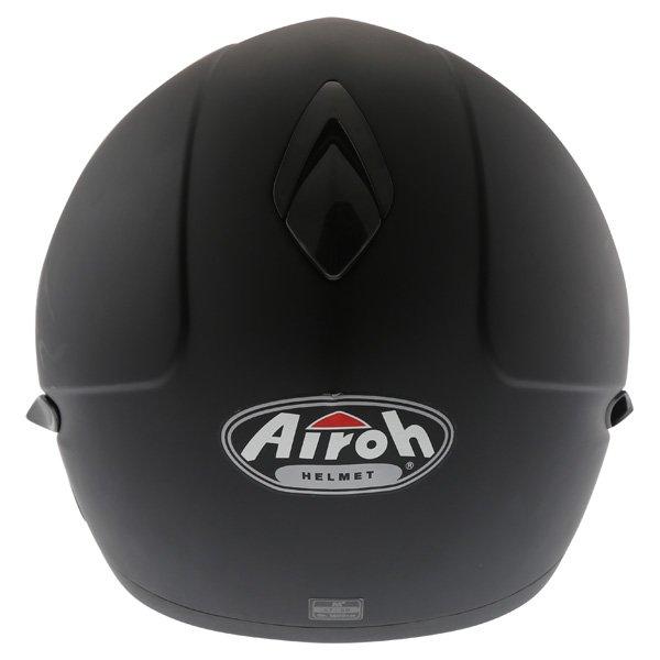 Airoh SV55-S Matt Black Flip Front Motorcycle Helmet Back