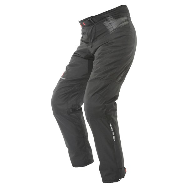Frank Thomas Dusk Mens Black Textile Motorcycle Trousers Riding position