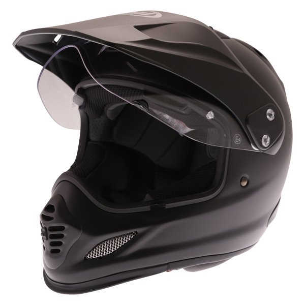 Arai Tour-X 4 Frost Black Adventure Motorcycle Helmet Open Visor