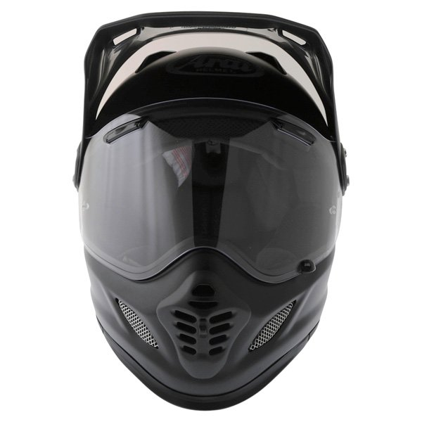 Arai Tour-X 4 Frost Black Adventure Motorcycle Helmet Front