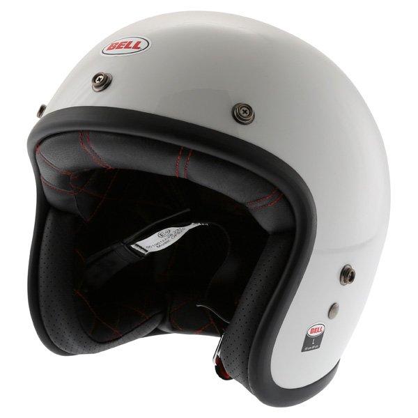 Custom 500 Helmet White Bell Helmets