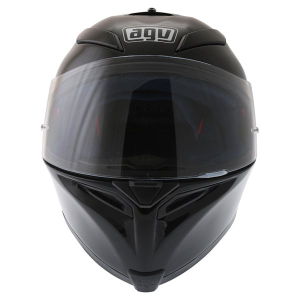 AGV K5 Black Full Face Motorcycle Helmet Front