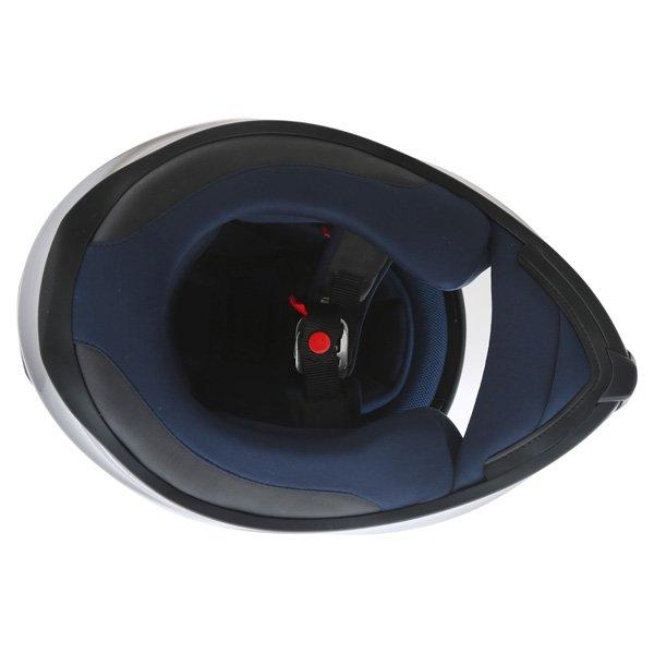 AGV K5 Black Full Face Motorcycle Helmet Inside