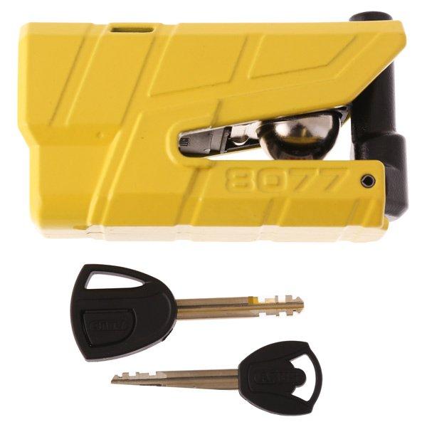 Abus Granit Detecto X-Plus 8077 Yellow Disc Lock