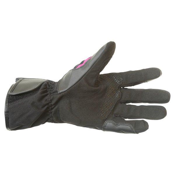 Alpinestars Largo Drystar Ladies Black Pink Motorcycle Gloves Palm