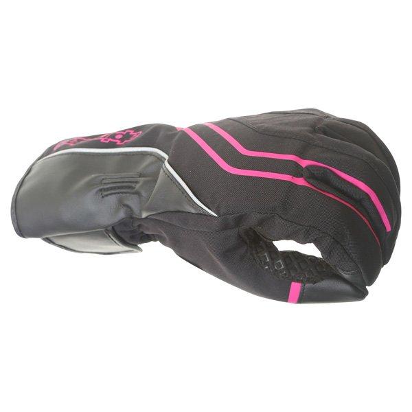 Alpinestars Largo Drystar Ladies Black Pink Motorcycle Gloves Knuckle
