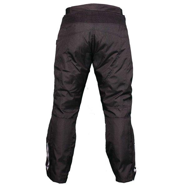 Frank Thomas FTW802 Solar Mens Black Textile Motorcycle Pants Rear