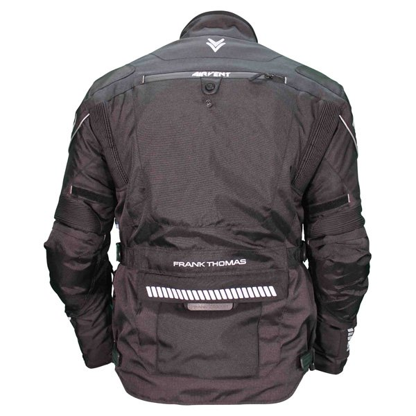 Frank Thomas FTW702 Mercury Jacket Black Back