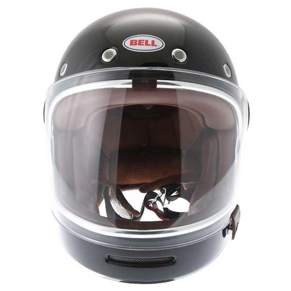 Bell Bullitt Black Full Face Motorcycle Helmet Front