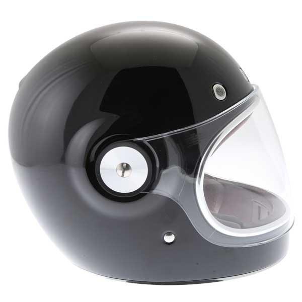 Bell Bullitt Black Full Face Motorcycle Helmet Right Side