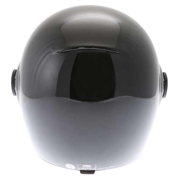 Bell Bullitt Black Full Face Motorcycle Helmet Back