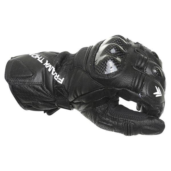 Frank Thomas Beta Black Motorcycle Gloves Knuckle