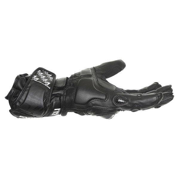 Frank Thomas Beta Black Motorcycle Gloves Little finger side