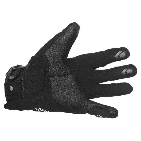 Frank Thomas Omega Black Blue Motorcycle Gloves Palm