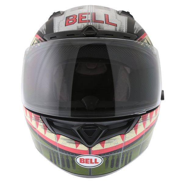 Bell Qualifier DLX Devil Mc Full Face Motorcycle Helmet Front