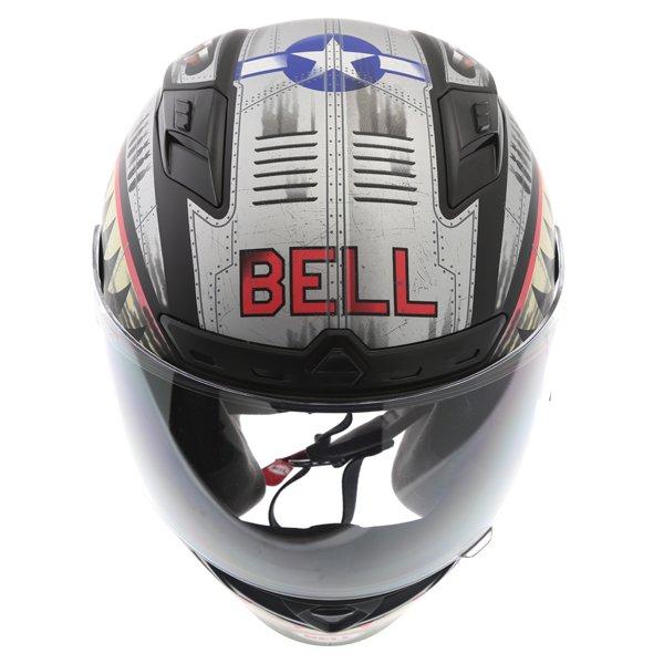 Bell Qualifier DLX Devil Mc Full Face Motorcycle Helmet Left Side