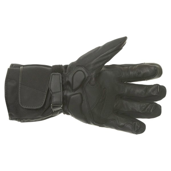 Alpinestars WR-V GoreTex Black Waterproof Motorcycle Gloves Palm
