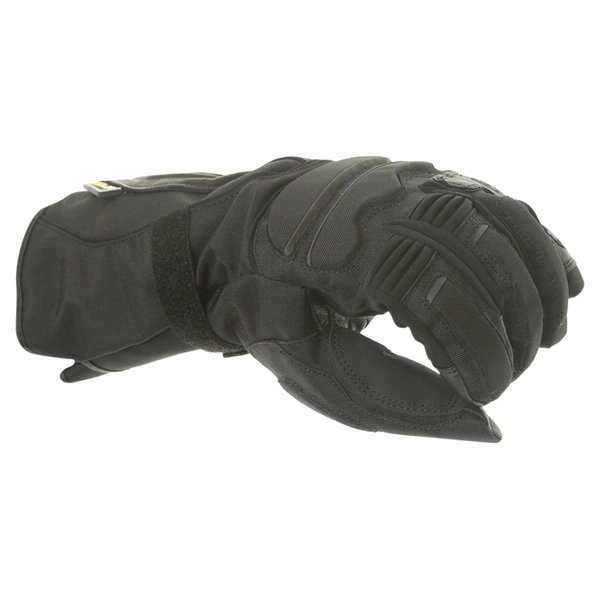 Alpinestars WR-V GoreTex Black Waterproof Motorcycle Gloves Knuckle