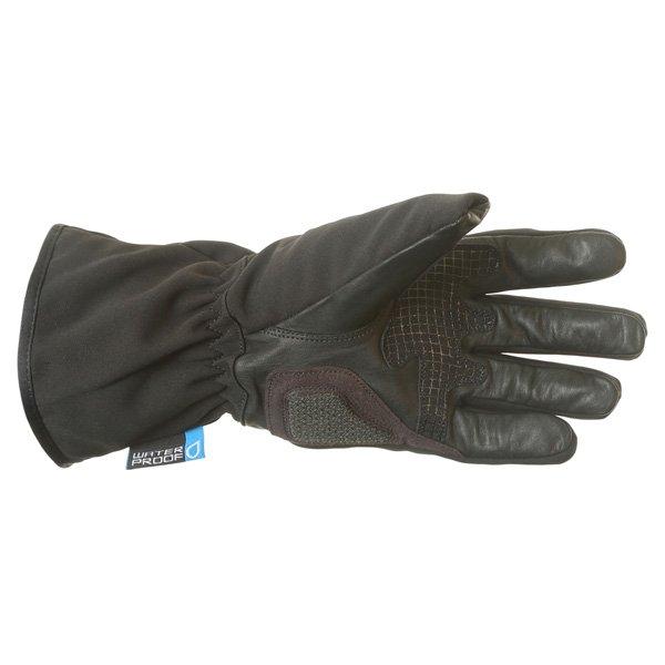 BKS Pulse Black Motorcycle Gloves Palm