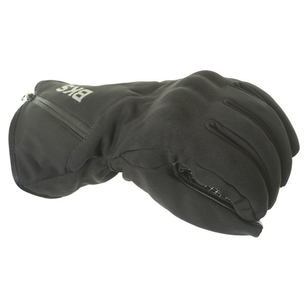 BKS Pulse Black Motorcycle Gloves Knuckle