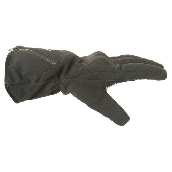 BKS Pulse Black Motorcycle Gloves Thumb side