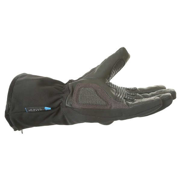 BKS Pulse Black Motorcycle Gloves Little finger side