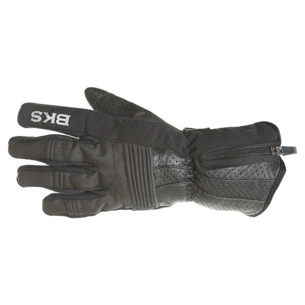 BKS Isla Ladies Black Motorcycle Gloves Back