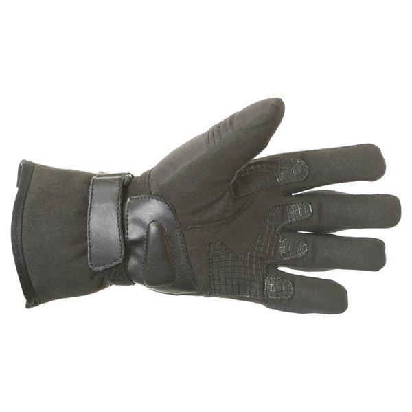 BKS Isla Ladies Black Motorcycle Gloves Palm