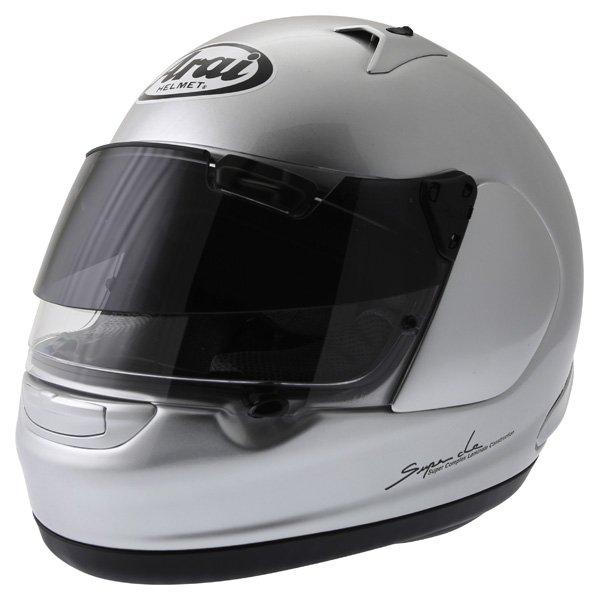 Arai Quantum ST Pro Alu Silver Full Face Motorcycle Helmet Front Left