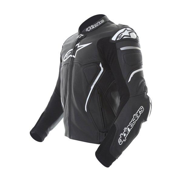 Alpinestars Atem Black Leather Motorcycle Jacket Side