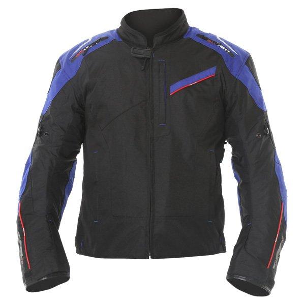 Estoril 2 0 MS Short Jacket Black Blue Oxford Clothing
