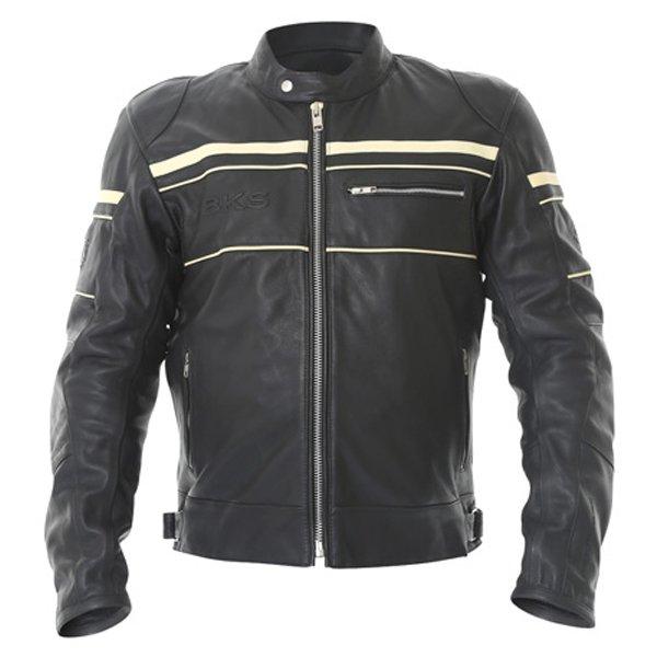 Cruiser Stripe Jacket Black BKS Clothing