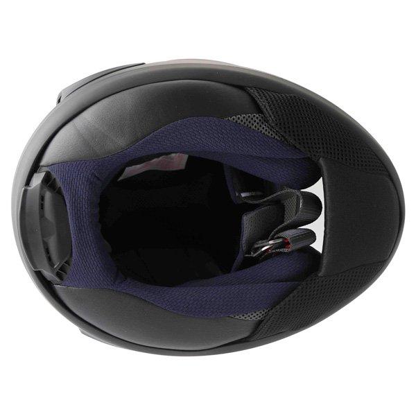 Arai RX-7V Frost Black Full Face Motorcycle Helmet Inside