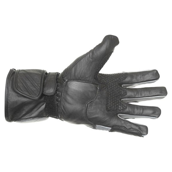BKS Racing Pro Black Gun Motorcycle Glove Palm