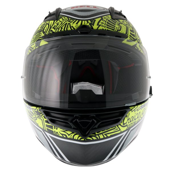 Bell Star Carbon SE Tagger Trouble Full Face Motorcycle Helmet Front