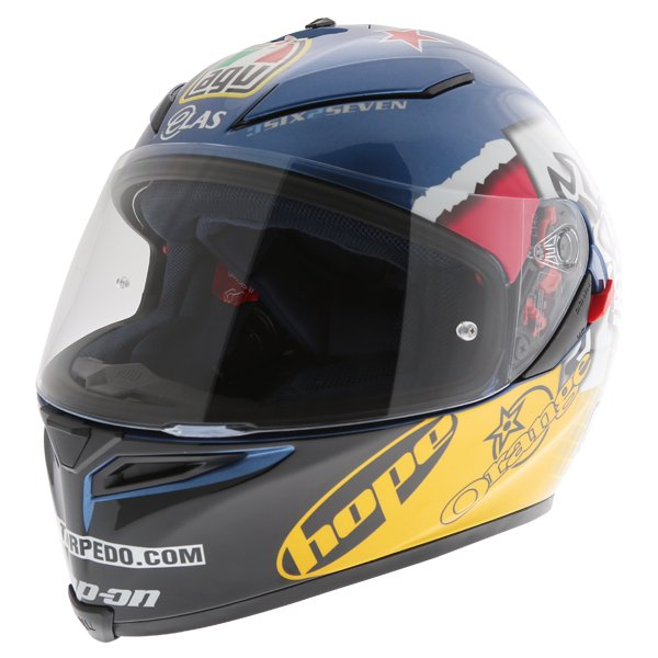 AGV K5 Guy Martin 3Some Full Face Motorcycle Helmet Front Left