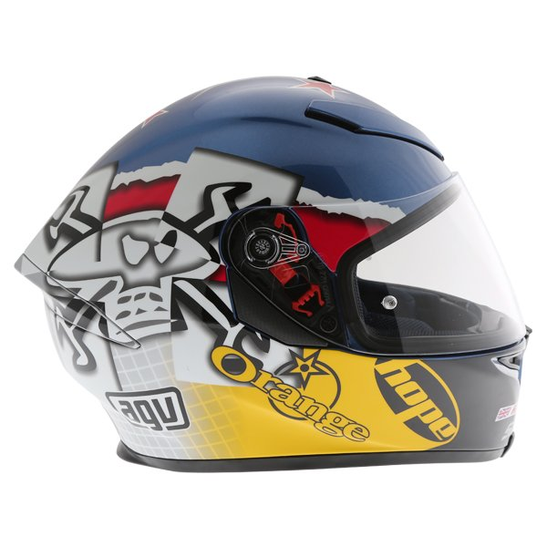 AGV K5 Guy Martin 3Some Full Face Motorcycle Helmet Right Side