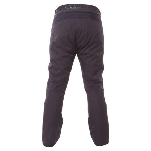Alpinestars Protean Drystar Mens Black Red Waterproof Textile Motorcycle Pants Rear